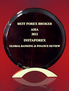 Global Banking & Finance Review 2012  - Ázsia legjobb Forex-brókere