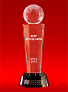 Il Miglior Broker ECN in Asia 2016 secondo International Finance Awards