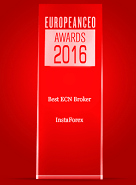 รางวัล  Best ECN Broker 2016 จาก European CEO Awards
