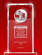 World Finance Awards 2010 – Il Miglior Forex Broker in Asia